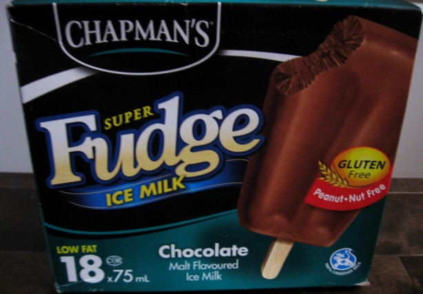 Updated Super Fudge fudgsicles from Chapman's